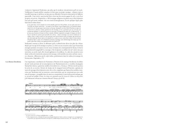 Le séjour de Sigismund Neukomm au Brésil, extrait 3