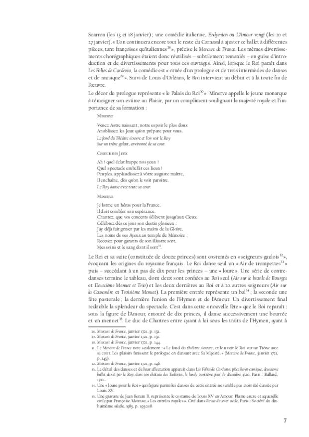 L'éducation musicale de Louis XV, extrait 3