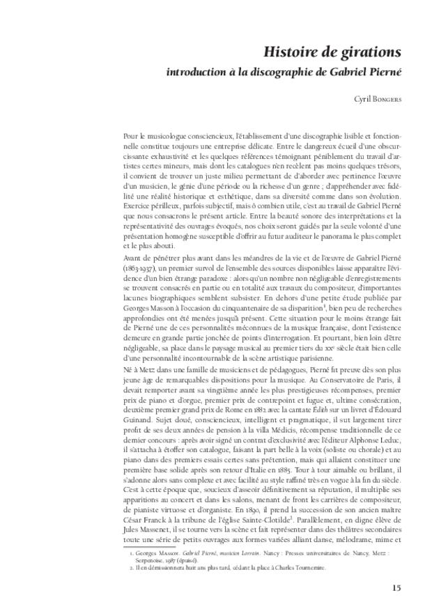L'éducation musicale de Louis XV, extrait 4