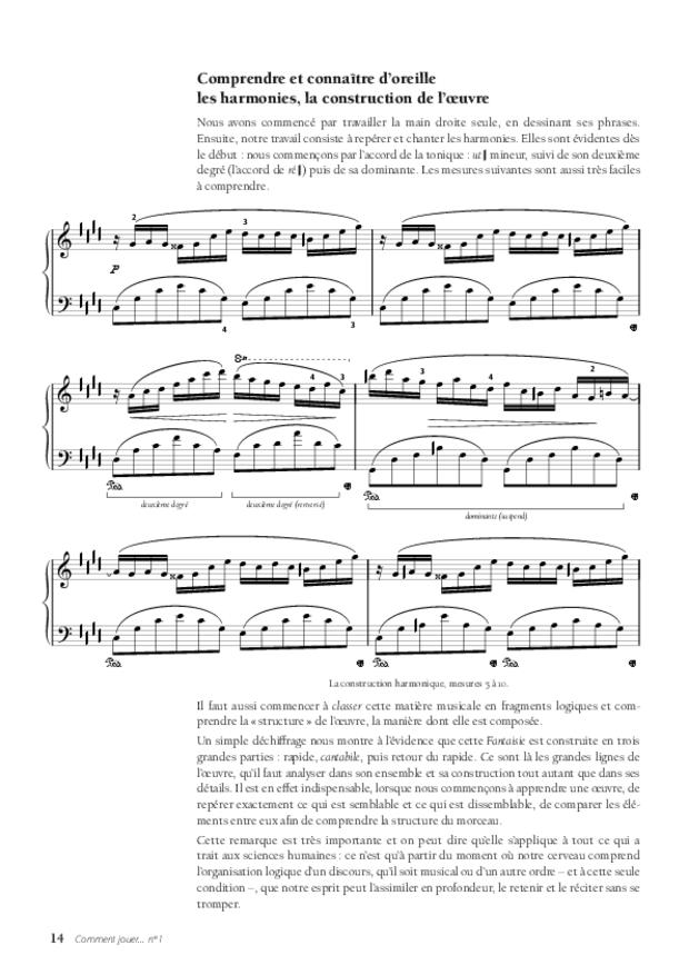 La Fantaisie-Impromptu de Chopin, extrait 4