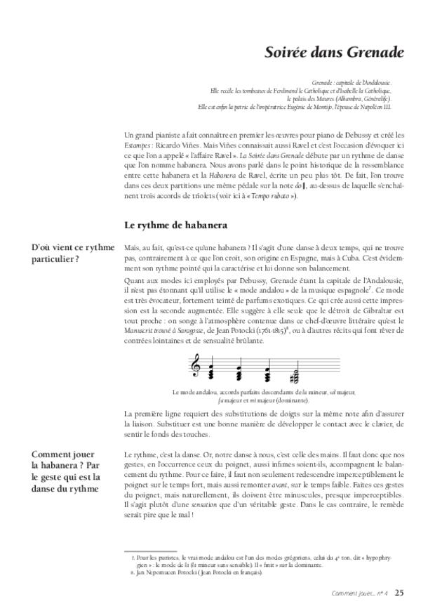 Les Estampes de Debussy, extrait 4