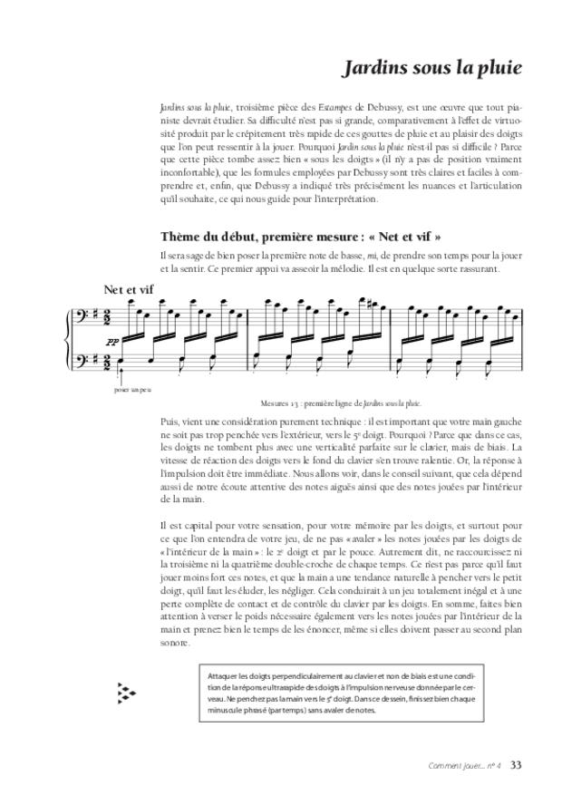 Les Estampes de Debussy, extrait 5