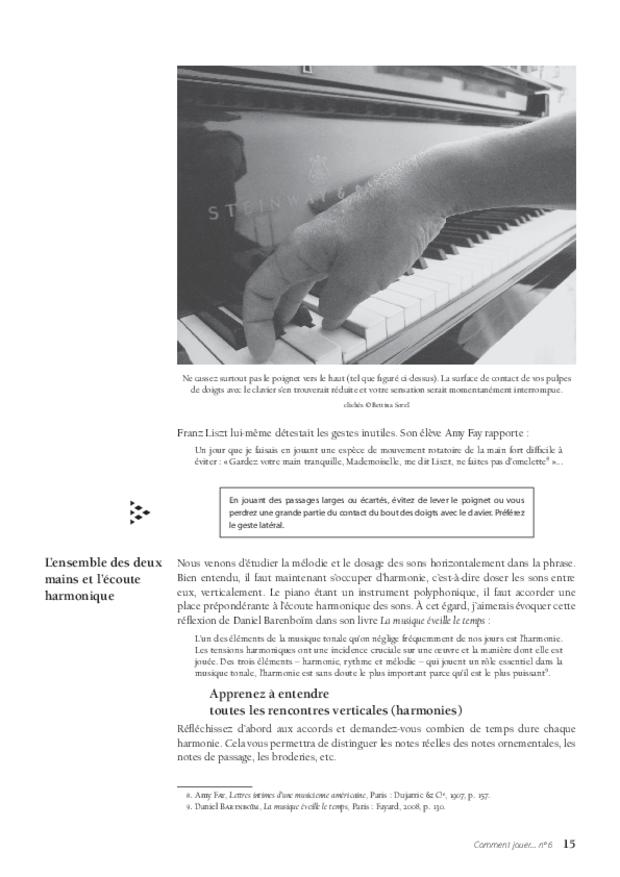 Le Nocturne en si majeur op. 9 no 3 de Chopin, extrait 5