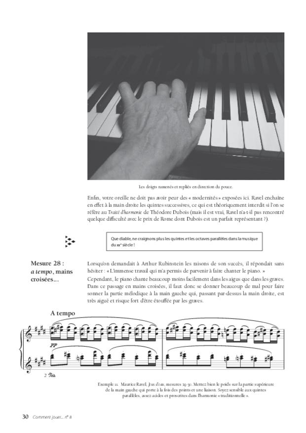 les Jeux d'eau de Maurice Ravel, extrait 5