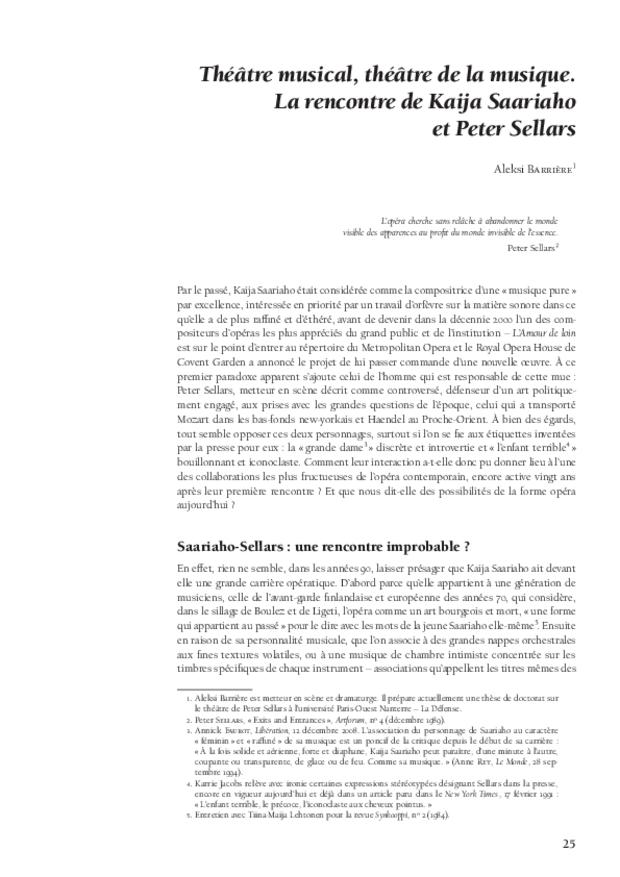 Kaija Saariaho: l'ombre du songe, extrait 5