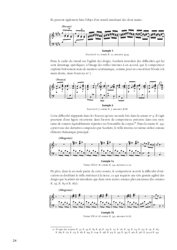 L'art d'enseigner le toucher du clavier, extrait 4