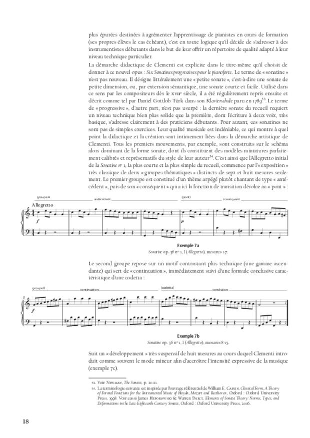 L'art d'enseigner le toucher du clavier, extrait 3