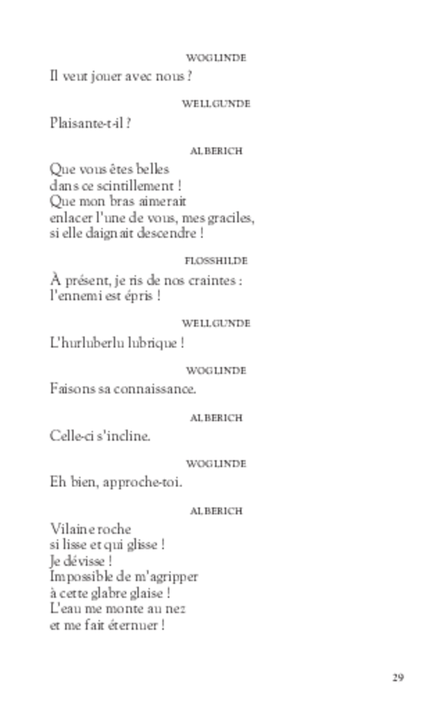 L'Anneau du Nibelung, extrait 4