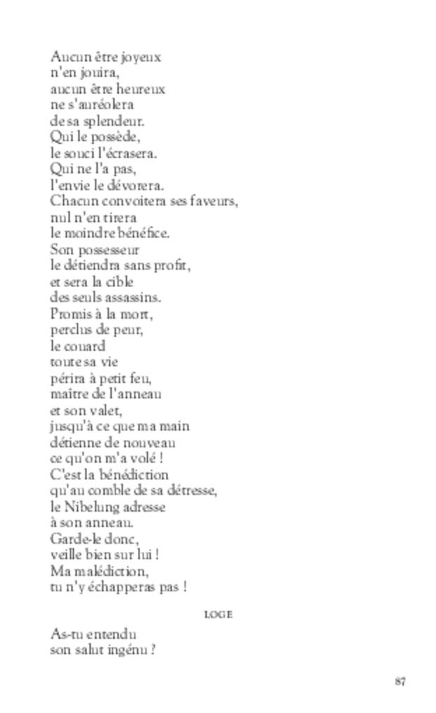 L'Anneau du Nibelung, extrait 5