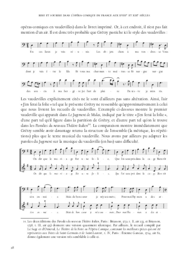 Rire et sourire dans l'opéra-comique en France aux xviiie et xixe siècles, extrait 3