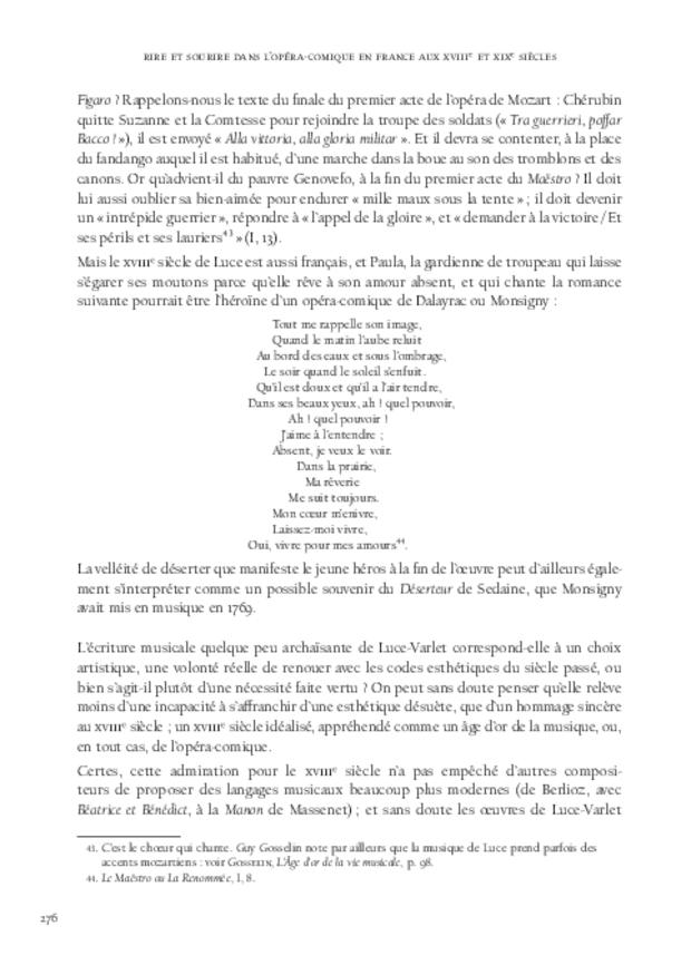 Rire et sourire dans l'opéra-comique en France aux xviiie et xixe siècles, extrait 7