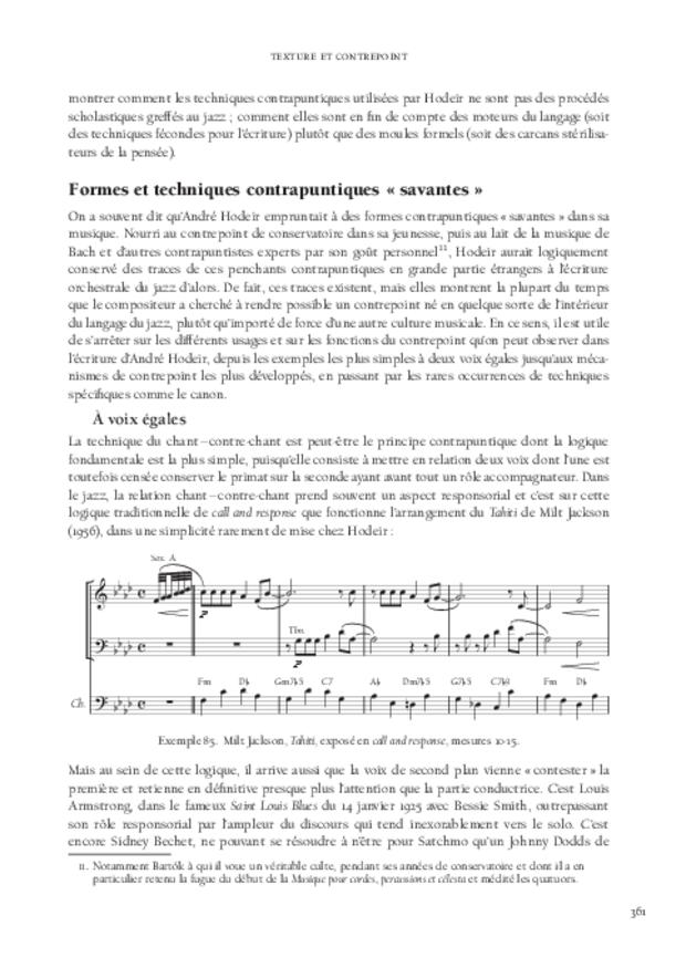 André Hodeir, extrait 10