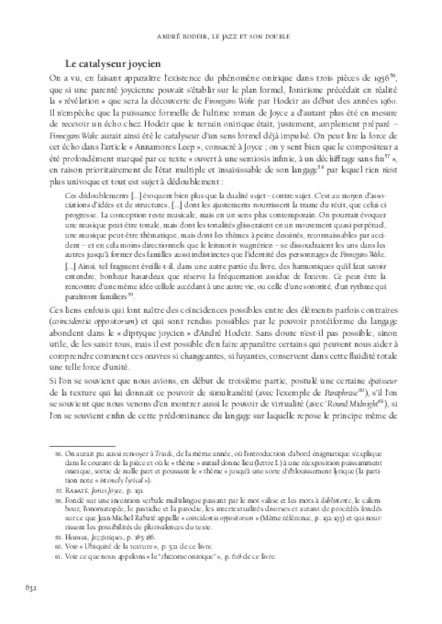 André Hodeir, extrait 12