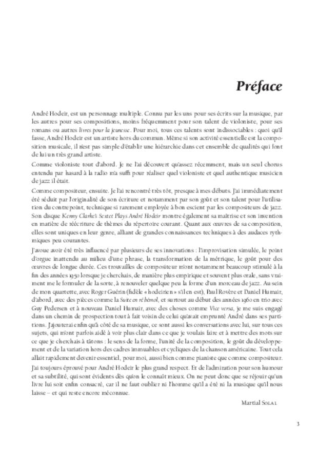 André Hodeir, extrait 3