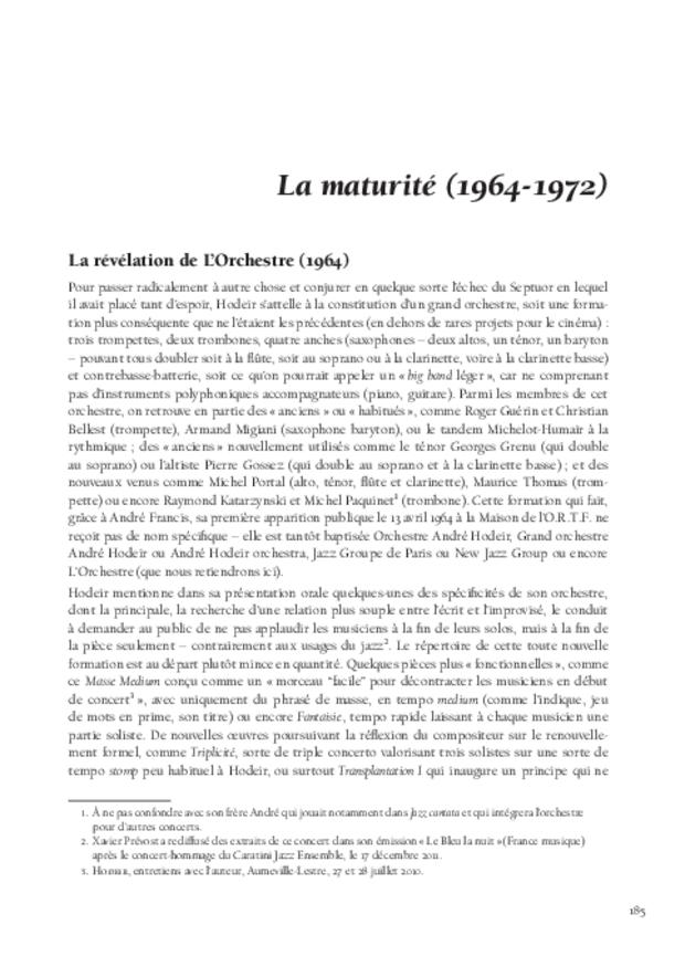 André Hodeir, extrait 7