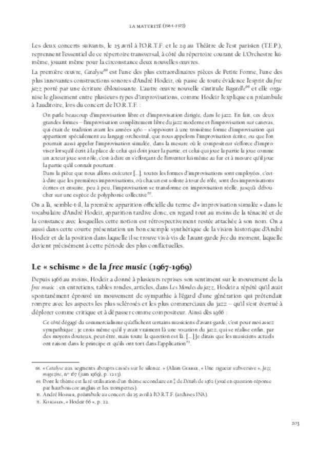 André Hodeir, extrait 8