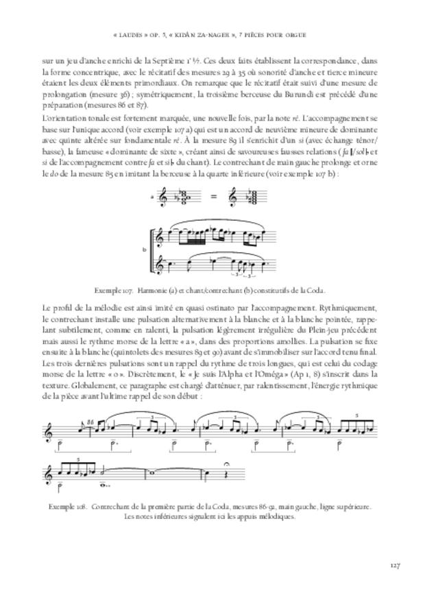 Jean-Louis Florentz et l'orgue. Essai analytique et exégétique, extrait 10