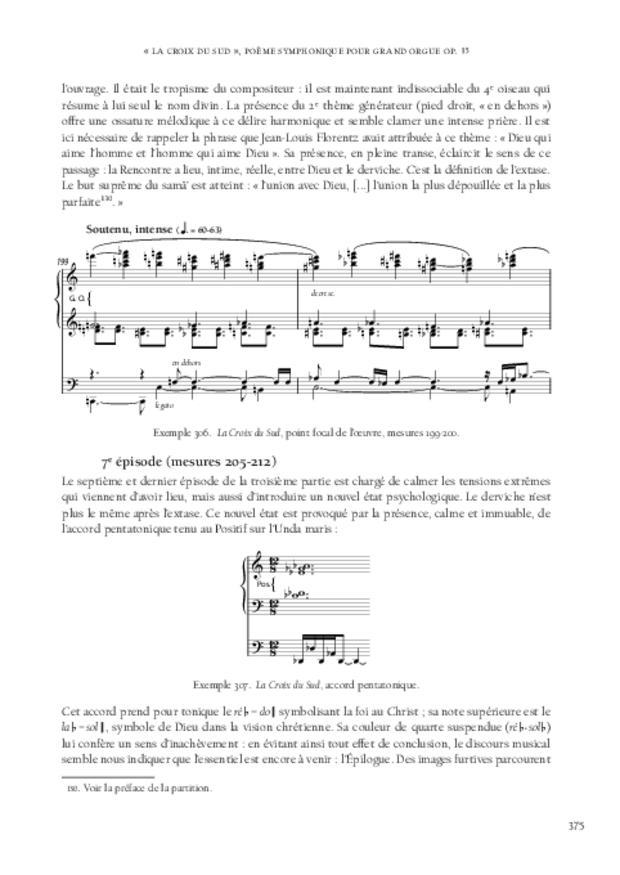 Jean-Louis Florentz et l'orgue. Essai analytique et exégétique, extrait 12