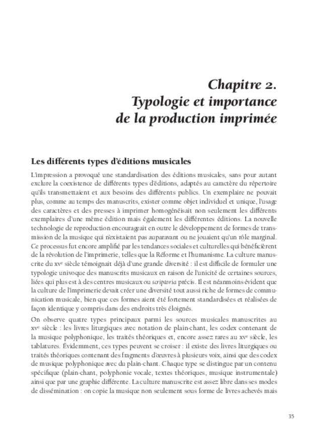 La Musique et la révolution de l'imprimerie, extrait 4