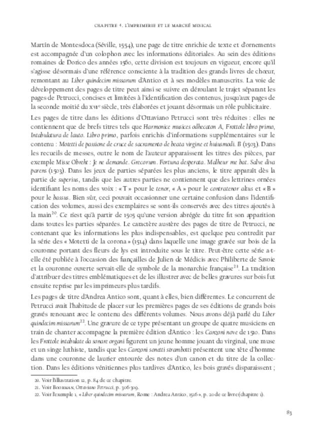 La Musique et la révolution de l'imprimerie, extrait 5