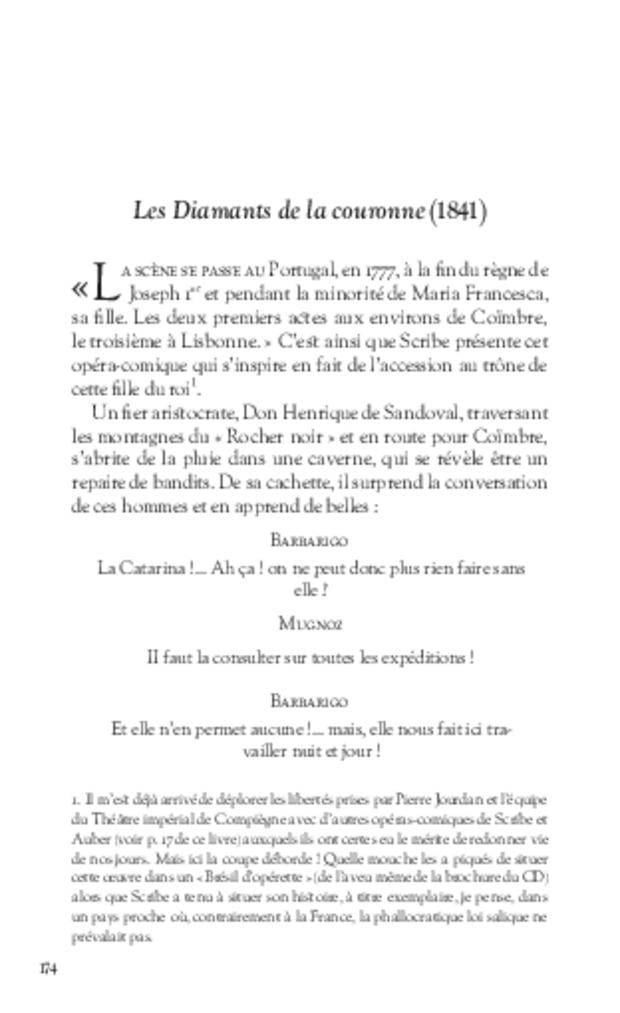 Eugène Scribe ou Le Gynolâtre, extrait 7