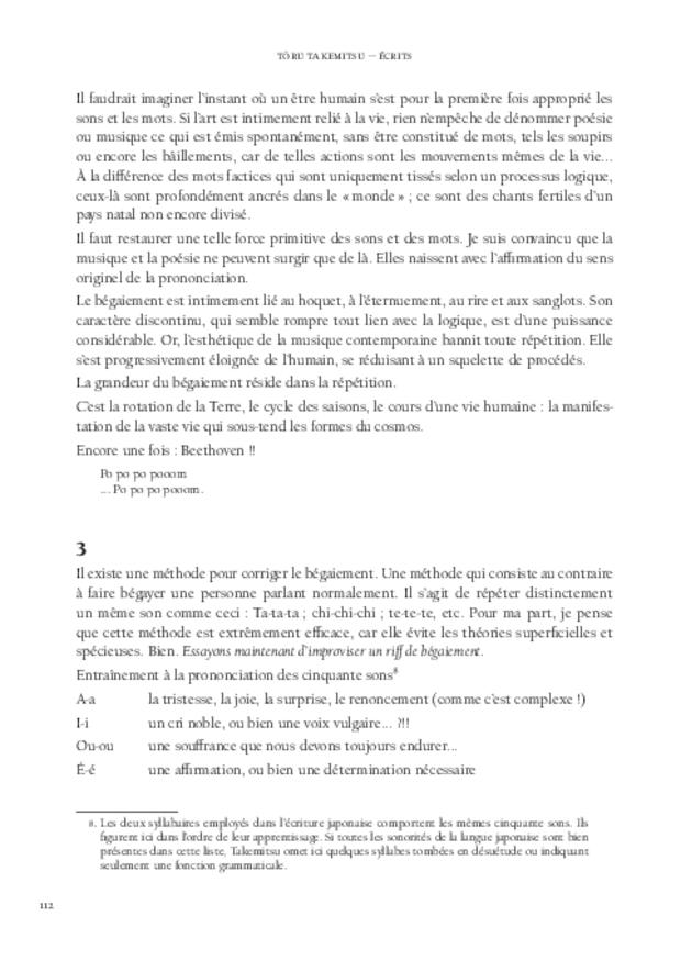 Écrits, extrait 6