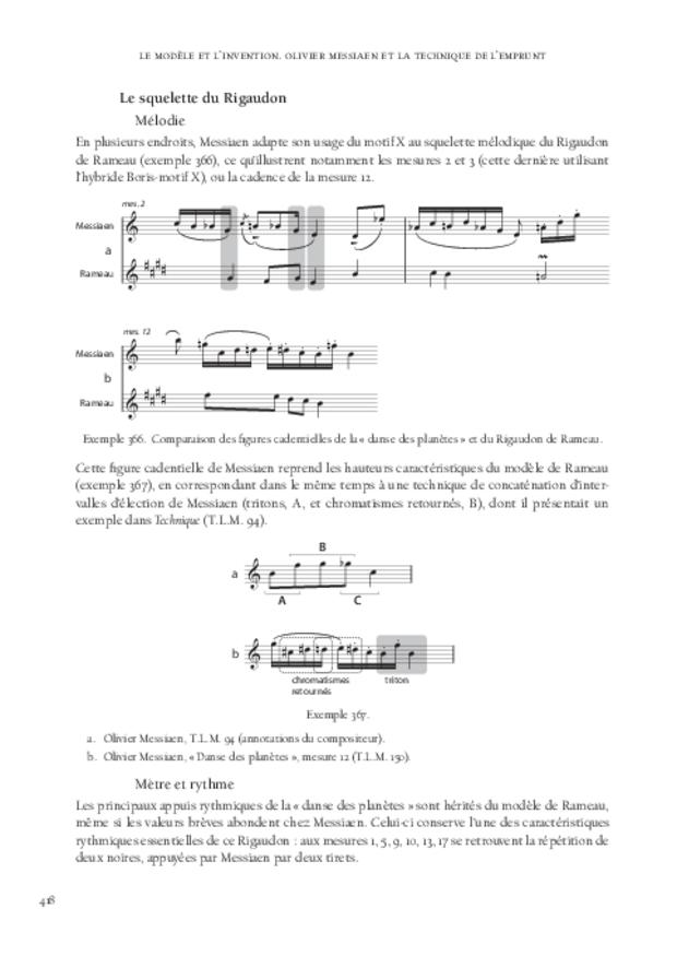 Le Modèle et l'Invention, extrait 12