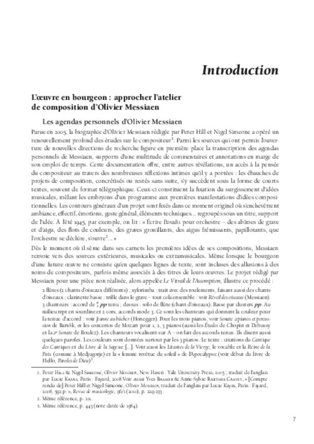 Le Modèle et l'Invention, extrait 4