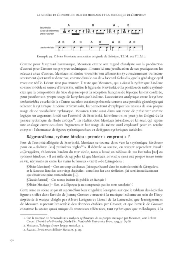 Le Modèle et l'Invention, extrait 6