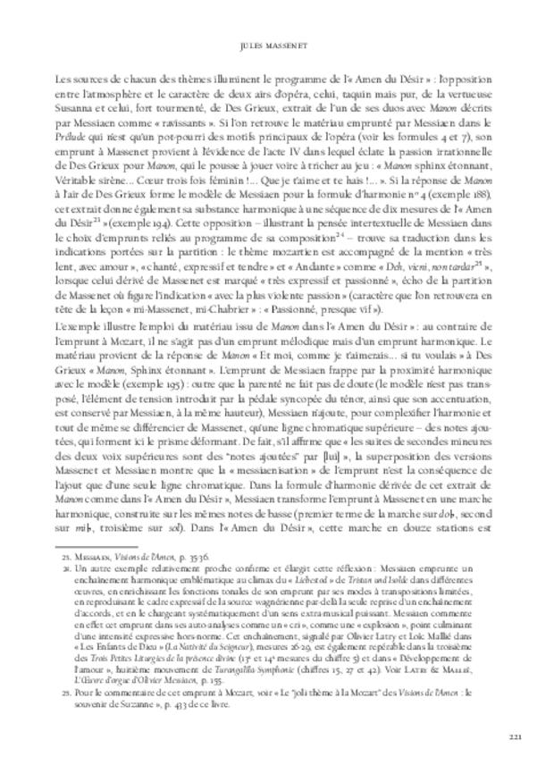 Le Modèle et l'Invention, extrait 9