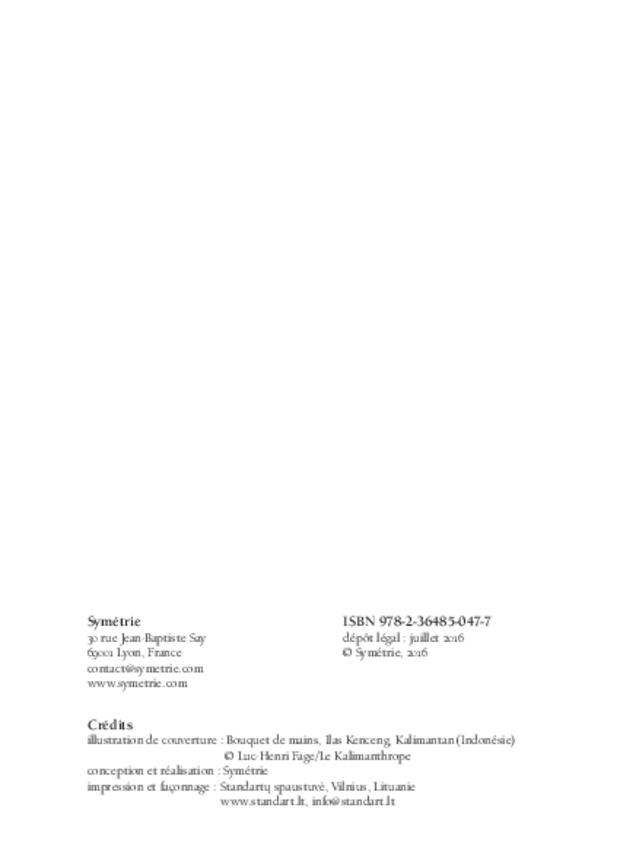 Mémoire d'empreintes, extrait 2