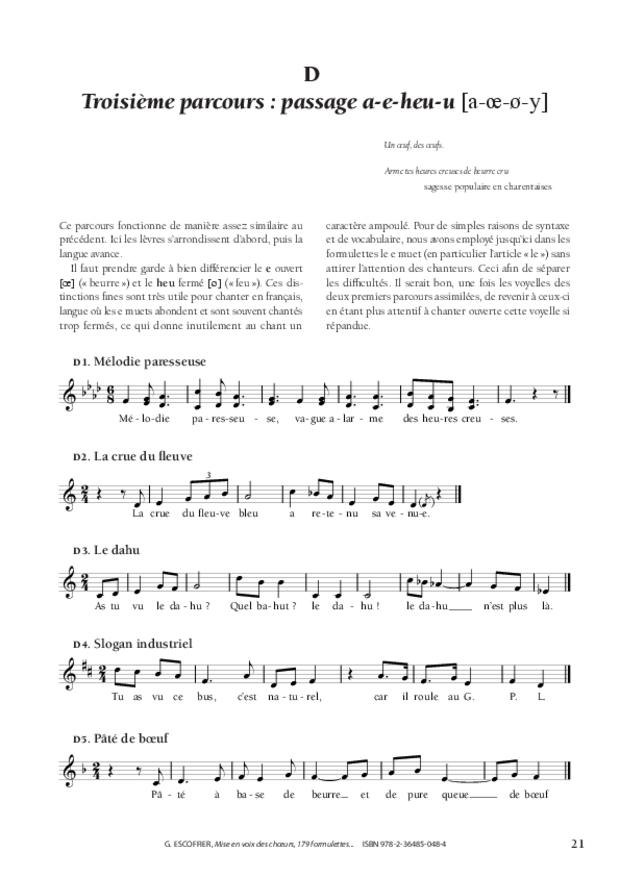 Mise en voix des chœurs, extrait 4