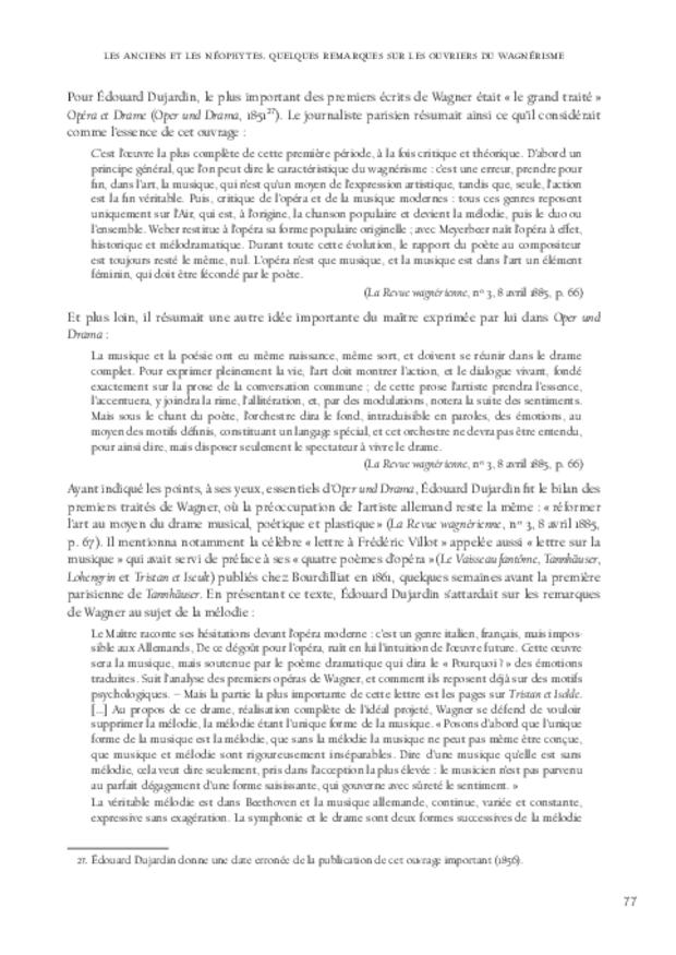 Richard Wagner et sa réception en France, extrait 3