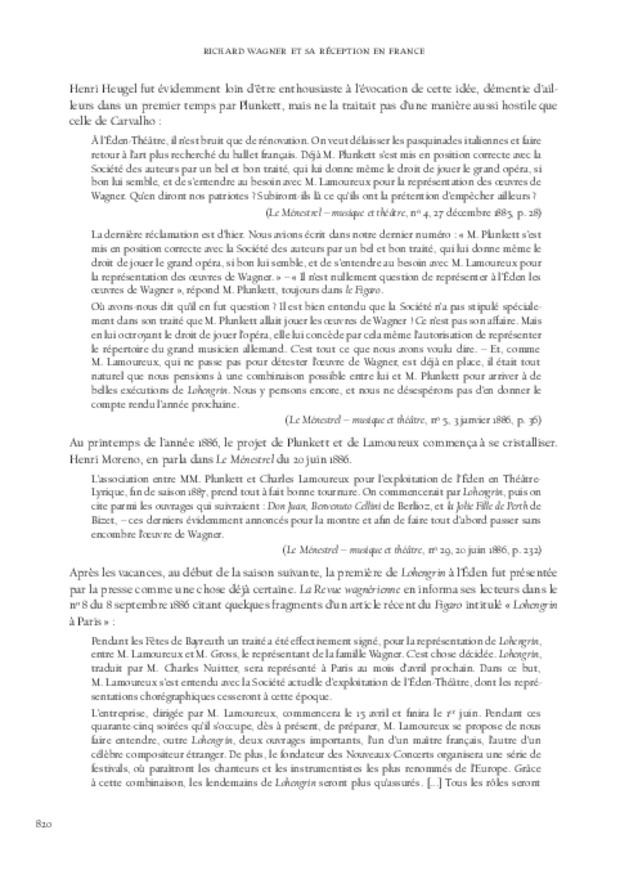 Richard Wagner et sa réception en France, extrait 7