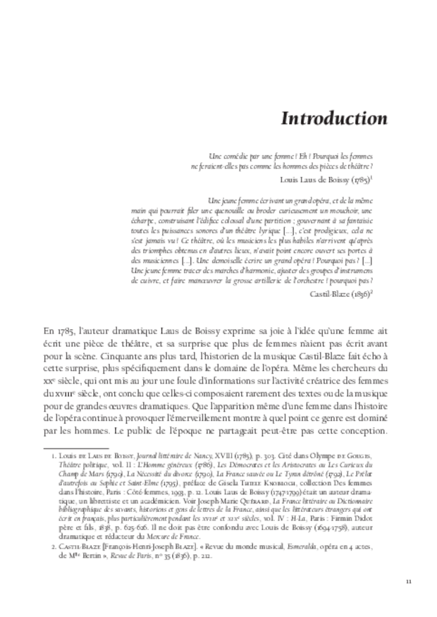Écrire l'opéra au féminin, extrait 3