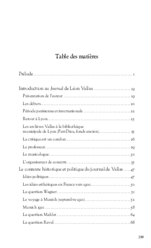 Journal d'un critique musical lyonnais, extrait 7