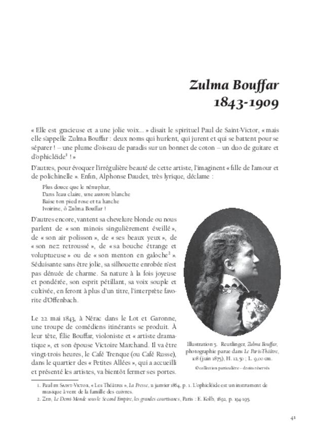 La Troupe de Jacques Offenbach, extrait 4