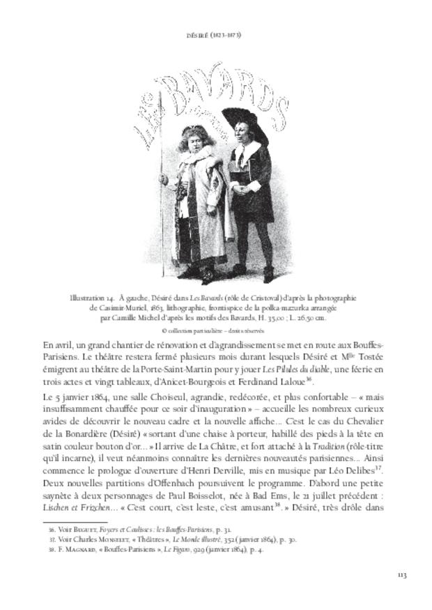 La Troupe de Jacques Offenbach, extrait 5