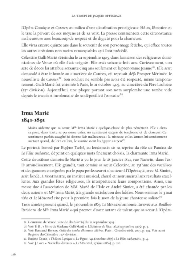 La Troupe de Jacques Offenbach, extrait 7