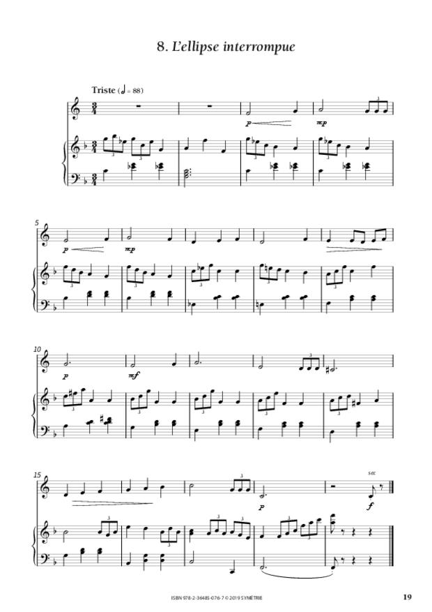 Dix Morceaux rigolos pour les p'tiots, extrait 3