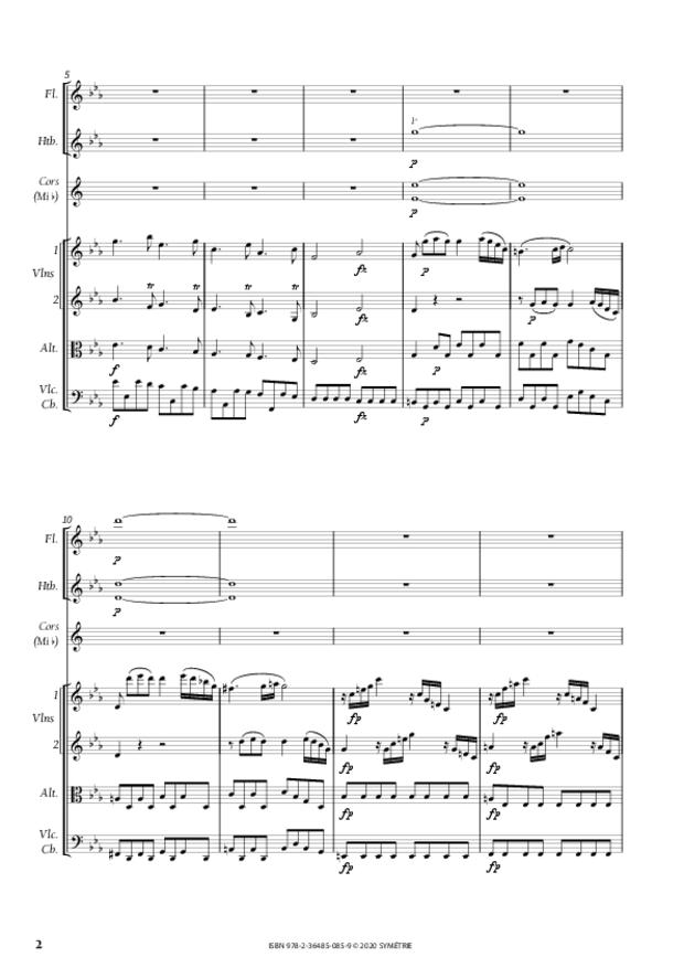 Concerto pour piano, extrait 2