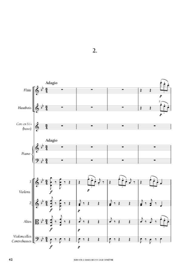 Concerto pour piano, extrait 3
