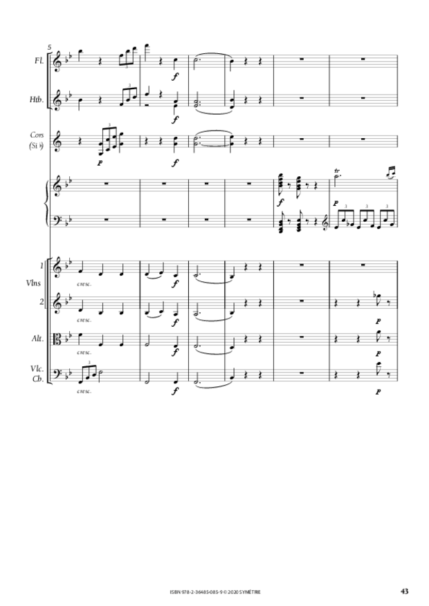 Concerto pour piano, extrait 4