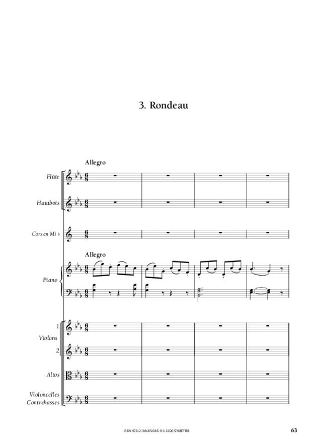 Concerto pour piano, extrait 6