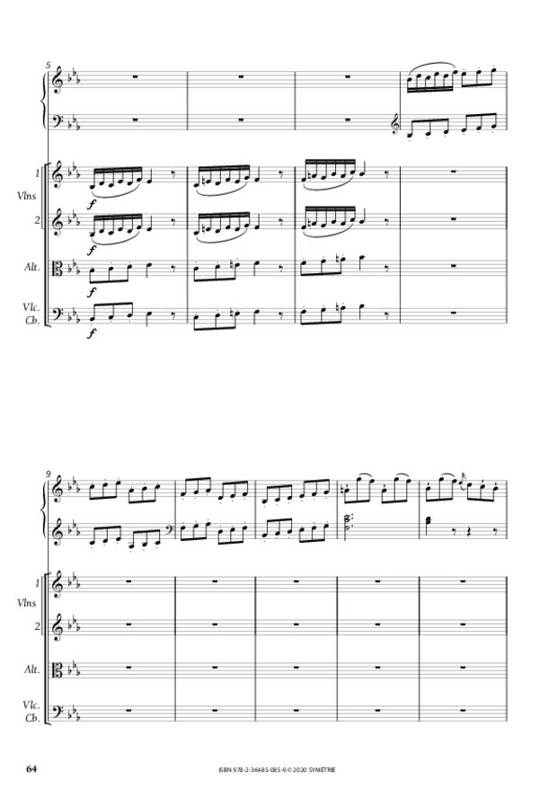 Concerto pour piano, extrait 7