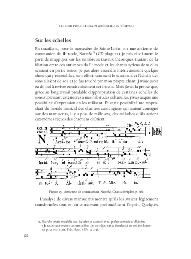 «Le Loin-Près», extrait 7