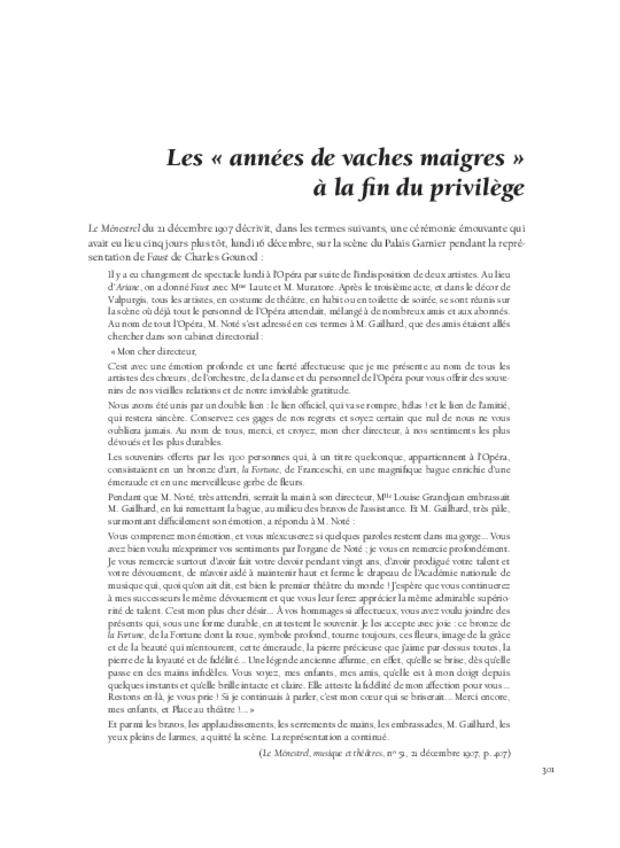 Richard Wagner  et sa réception en France, extrait 12