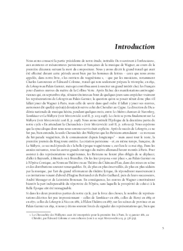 Richard Wagner  et sa réception en France, extrait 4
