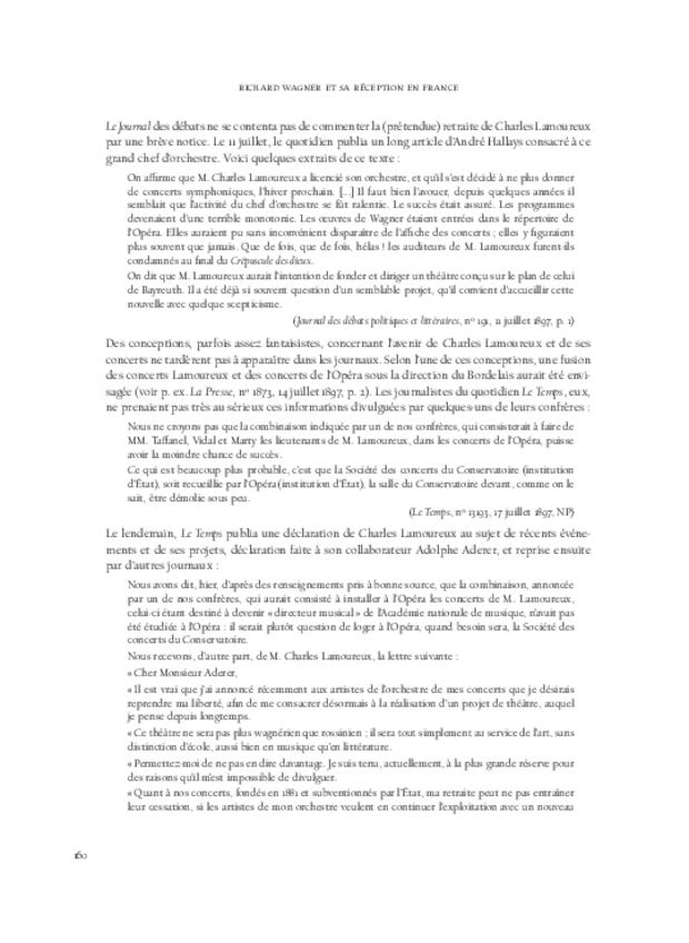 Richard Wagner  et sa réception en France, extrait 8