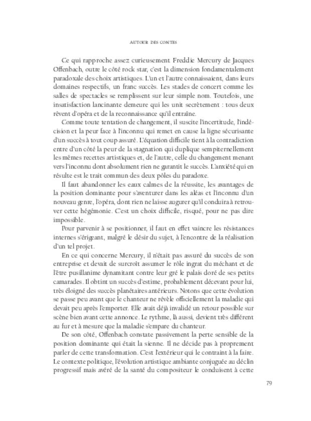 Les Contes d'Hoffmann, extrait 5